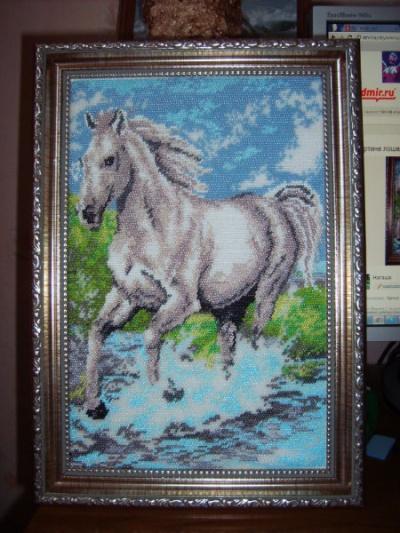 """Продам Картина из бисера  """"Лошадь """" в Брянске."""